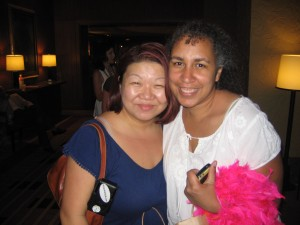 Anissa and I at BlogHer