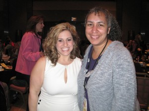 Marissa Jaret Winokur and I
