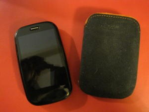 Verizon Palm Pre Plus with Case