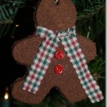 Cinnamon Applesauce Gingerbread Men Ornaments