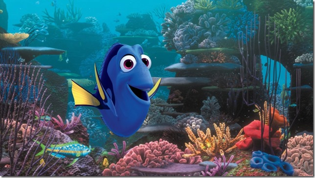 Dory in Finding Dory