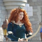 Early Mother's Day Magic – Braving the Heat for Merida's Royal Coronation in Disney World