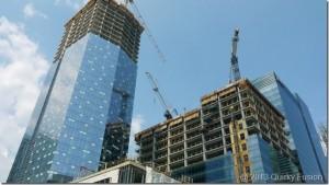 Toronto Construction Cranes