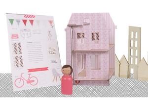 Lille Huset Le Marias DIY Dollhouse