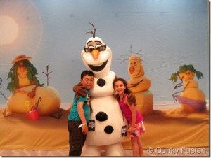 Warm Hugs with Olaf