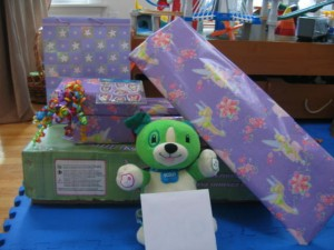 LadyBug's Presents From Mom & Dad