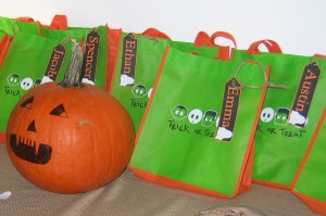 Halloween Birthday Goodie Bags