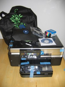 HP Photosmart Premium TouchSmart All-in-One Web Printer - Right out of the box