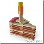 Happy Birthday from Tegu and Cool Tinted Blocks