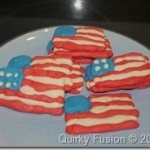 Fourth of July Flag Cookies