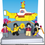 K'NEX Brand Waxes Nostalgic with KISS and Yellow Submarine Figures