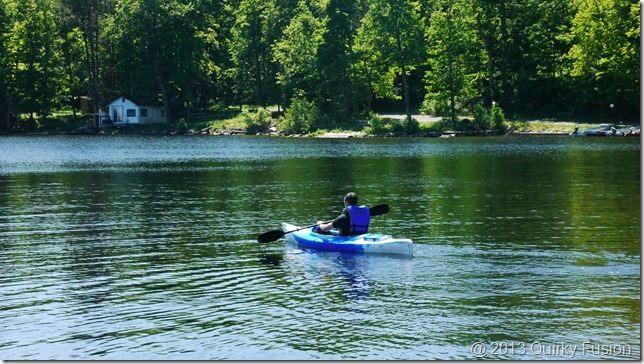 Kayaking on Stoney Lake - Viamede Resort