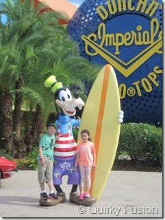 Goofy at Pop Century Resort, Disney World