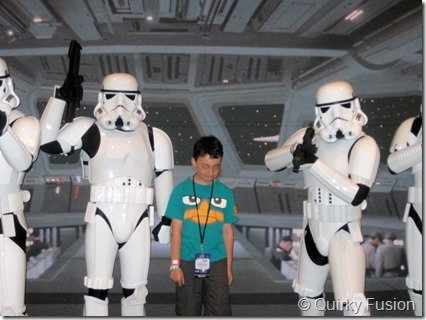 Hanging out with the Storm Troopers