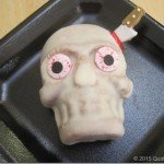 Decorating Skull Cakes for Halloween Parties