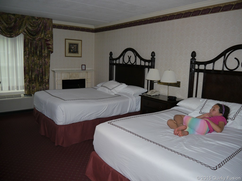 Deluxe room at John Carver Inn & Spa