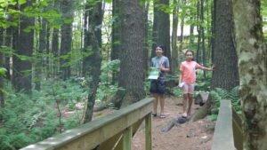 Maine Wildlife Park Sanctuary Trail