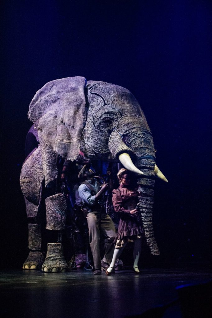 Circus 1903 Elephant Puppet