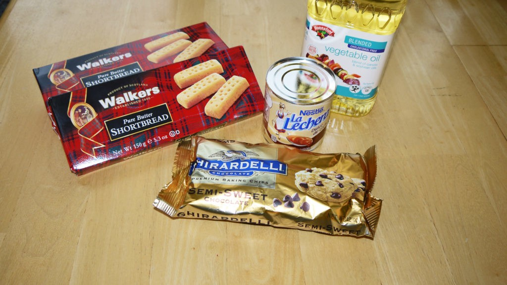 Shortbread Candy Bar Supplies
