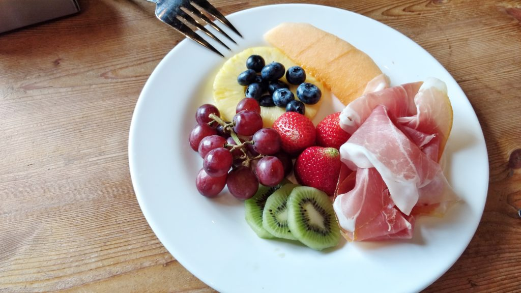 Brunch at Il Casale - Fruit Plate
