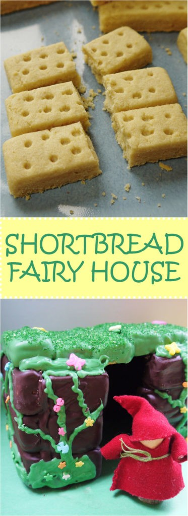 Shortbread Fairy House