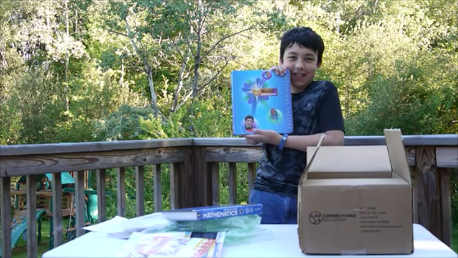 Unboxing TEC Connections Academy books and materials