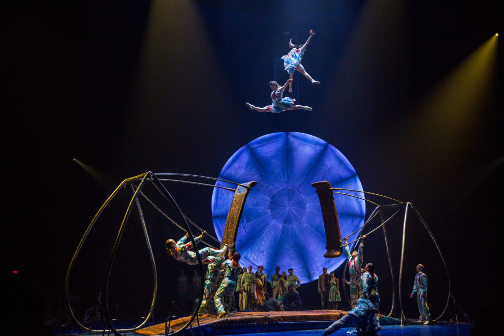 LUZIA by Cirque du Soleil Russian Swing Act