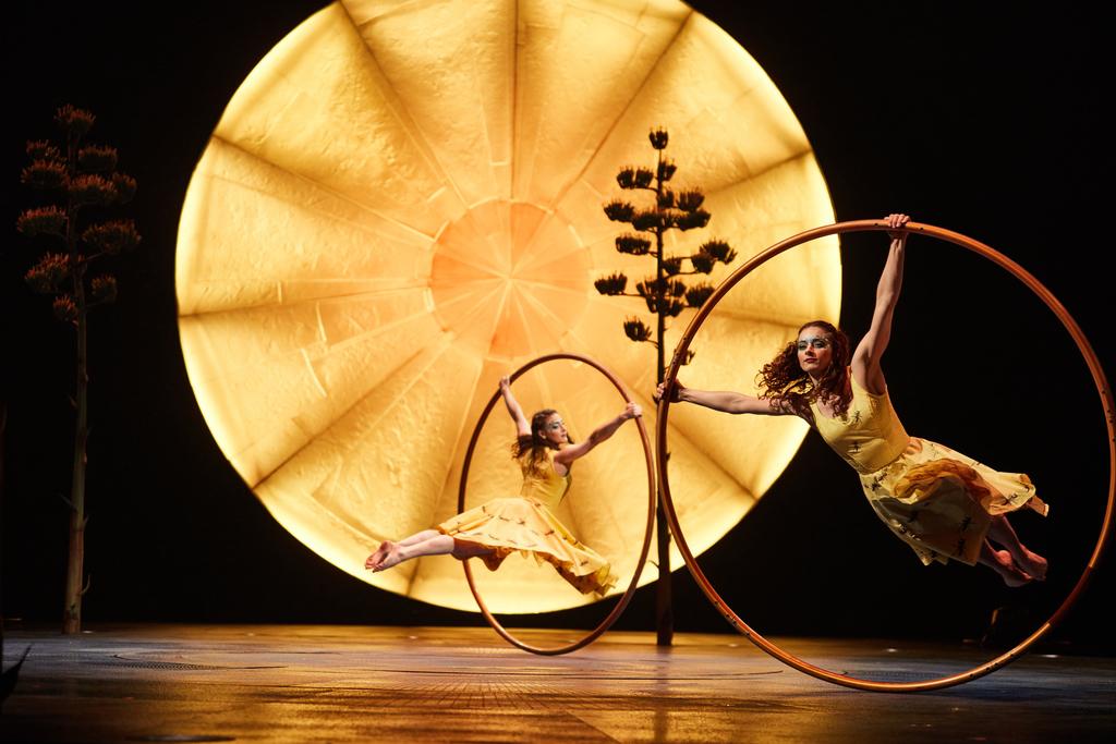 LUZIA by Cirque du Soleil Cyr Wheel